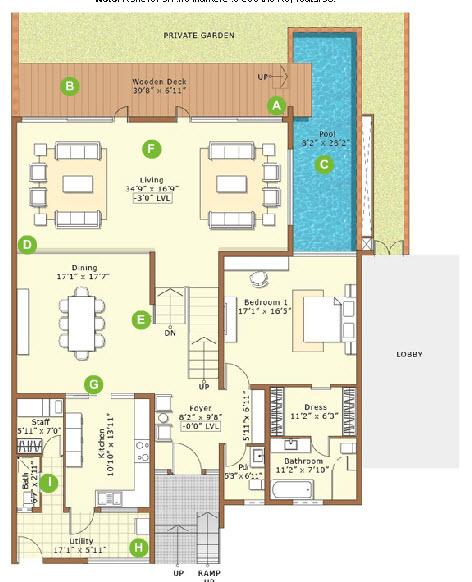 Ground Floor Plan Embassy Grove Embassy Springs