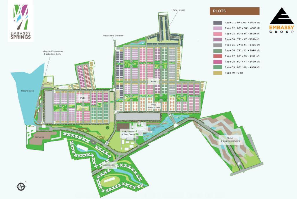 Embassy Springs Floor Plan | Embassy Group Township